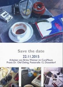 Britta Weimer Vernissage bei Curameum Düsseldorf